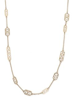 Dress up any outfit with this classic gold link long strand necklace from Stella & Dot. Find fashion necklaces, trendy necklaces, pendants, chokers & more.