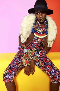 Destiny Owusu featured in TXTURE Magazine African Style ~African fashion, Ankara, kitenge, African women dresses, African prints, African men's fashion, Nigerian style, Ghanaian fashion ~DKK