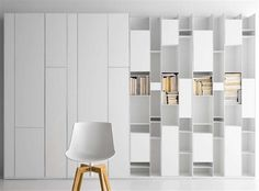 Library Bookcase - Luxury Wall Storage Innovation Design For the Modern Library