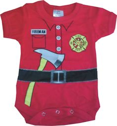 Firefighter Infant Onesie | Shared by LION