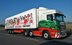Stobart Super League truck