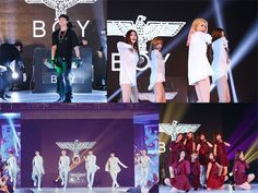 Rain, STELLAR, Lovelyz, and Snuper bring K-Pop to the BOY London fashion show in Beijing
