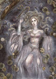 Ophelia by Achen089.deviantart.com on @deviantART