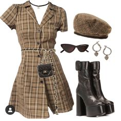 Safa styled photos and videos on this is cuteeee Kpop Fashion Outfits, Stage Outfits, Retro Outfits, Cute Casual Outfits, Stylish Outfits, Girl Outfits, Polyvore Outfits, Look Fashion, Korean Fashion