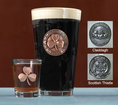 New for Fall - Pint Glass and Shot Glass Set
