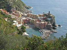Vernazza, Italy - on