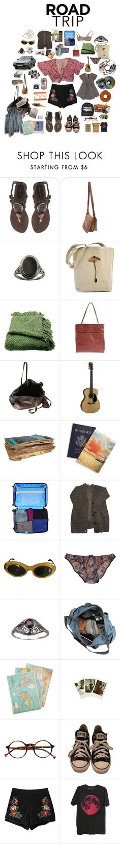"""""""road trip with lover"""" by macdemarc ❤ liked on Polyvore featuring Ilse Jacobsen Hornbaek, Coach, Woven Workz, HOBO, Rick Owens, Heys, Nasty Gal, Yves Saint Laurent, Cavallini & Co. and Fujifilm"""