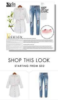 """Shein!!"" by merima-gutic ❤ liked on Polyvore featuring Dolce&Gabbana and Vans"