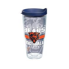 Chicago Bears Gridiron 24 oz. Tervis Tumbler with Lid - (Set of 2)