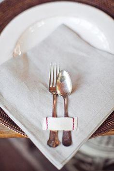 Heirloomed napkins