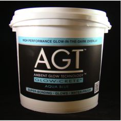 AGT™GLOW-CRETE Aqua Blue Overlay System is a glow-in-the-dark overlay system. This product is bone white in colour during the day & glows Aqua Blue at night. Concrete Projects, Backyard Projects, Outdoor Projects, Garden Projects, Concrete Patios, Concrete Steps, Cement Crafts, Diy Projects, Glow Rock