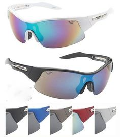 Man Sports Sunglasses Plastic Frames Assorted Case Pack 24