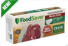 Homebrew Finds: Amazing Deal: FoodSaver Heavy Duty Bags Buy One Get Three Free!