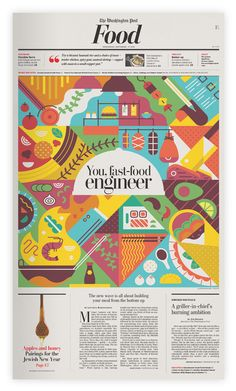Washington Post - Food on Behance