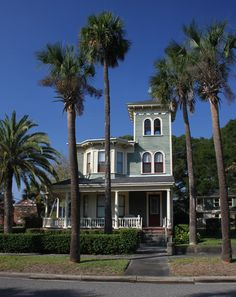 Victorian Home 2 - Fernandina Beach, Florida by Asa Jernigan