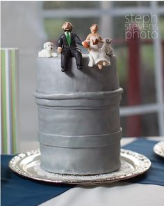 This might be the best wedding cake ever!
