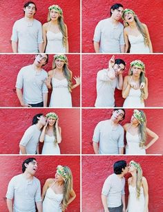 Awesome engagement pics haha!
