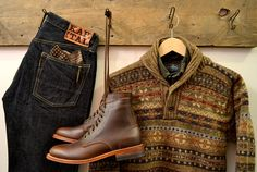 Great new things at the shop for fall! Kapital, Engineered Garments, Oak Street Bootmakers, Gitman Vintage, and Howlin'.