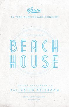 Beach House Music Poster| #poster #music