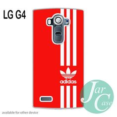 Straight Adidas Red Phone case for LG G4