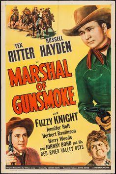 "Marshal of Gunsmoke (Universal, 1943). One Sheet (27"" X   Lot #51250   Heritage Auctions"