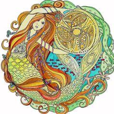 I always love mermaids