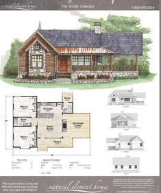 """Screen in """"outdoor living"""". Make two beds a master with ensure. Add bed&bath in loft? Cabin House Plans, Cabin Floor Plans, Tiny House Cabin, Dream House Plans, Tiny House Design, Small House Plans, Cabin Homes, Cottage Homes, Tiny Home Floor Plans"""