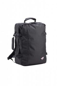 Carry on #2: CabinZero duffel backpack 56. | Fits all carry-on requirements --INCLUDING RYANAIR! Cabin Luggage, Hand Luggage, Carry On Luggage, Travel Backpack, Black Backpack, Travel Bags, Luxury Brand Names, Cabin Bag, Bags