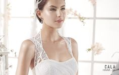 HIVAR   Bohemian Wedding Dress   2015 Cala Collection   by Sara Villaverde   Villais