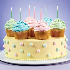 Find great ideas, recipes & all the supplies you'll need at wilton.com including Pretty Party Cupcakes & Cake.