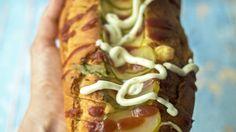 Fat friday: domowy kebab : Nerdy Cookin' Knysna, Impreza, Hot Dogs, Bar, Ethnic Recipes, Food, Essen, Meals, Yemek