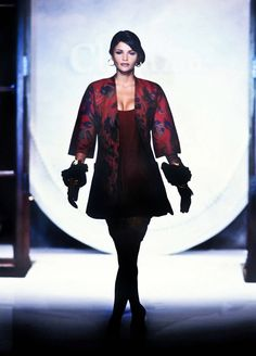 Gianfranco Ferre, Helena Christensen, Ferrat, Supermodels, Christian Dior, Fall Winter, Runway, Michael Hutchence, Outfits