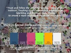 SS 2016 Trend Forecasting for Women, Men, Intimate, Sports Apparel - Break the boundaries and the rules. Description from fashionwebgraphic.com. I searched for this on bing.com/images