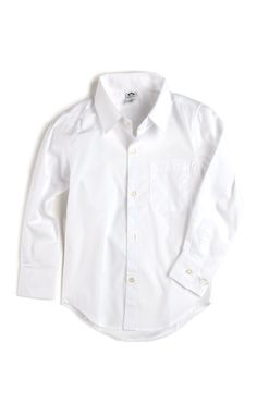 Appaman Boys Standard White Button-Down Shirt
