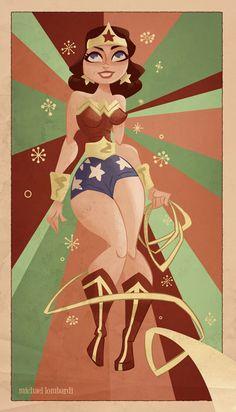 Wonder Woman - Michael Lombardi