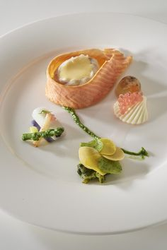 LUXEMBOURG fish plate © Photos Le Fotographe