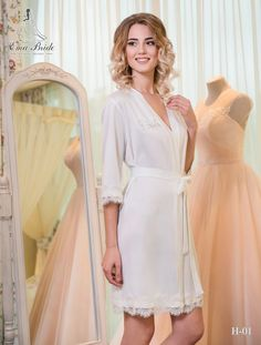 Buy Bridal Nightgown Ema Bride with delivery . Bridal Nightgown, Bridal Robes, Gold Bridesmaid Dresses, Wedding Dresses, Bouquet Wedding, Wedding Nails, Chapel Length Veil, Tulle Dress, Beautiful Bride