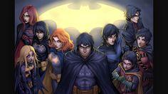 The BAT FAMILY!