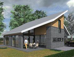 Nieuw ontwerp van een eigentijdse woning in Meteren.