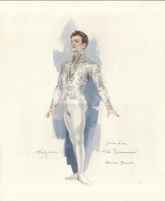Snow-king Nutcracker: Illustrations by Robert Perdziola courtesy of Boston Ballet Nutcracker Costumes, Theatre Costumes, Ballet Costumes, Dance Costumes, Ballet Boys, Ballet Art, Ballet Dancers, Ballet Illustration, Costume Design Sketch