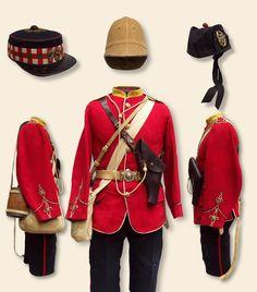 Typical Zulu War campaign kit
