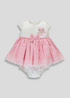 5e14244c0a0f Kids Disney Minnie Mouse Dress   Knickers (Newborn-18mths) - Matalan
