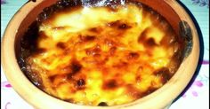 Baked Rice pudding Turkish style...sutlac