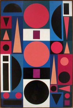 Auguste Herbin, abstract, cubism