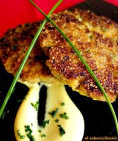 Hamburguesa de pescado y quinoa especial niños