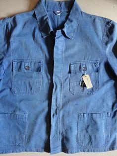 Vintage 1960s bleu de travail blue indigo by TheDustbowlVintage, £35.00