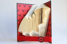 Bat Book Folding Pattern: Includes free by LoveBookFolding on Etsy
