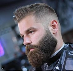 30 Cool Beard Trim Styles For Men Short Beard Styles, Among the ideal hairstyle for men that have a receding hairline is the buzz cut. For people who like to maintain a beard, it is quite important . Beard Cuts, Beard Fade, Full Beard, Men Beard, Barba Grande, Great Beards, Awesome Beards, Beard Styles For Men, Hair And Beard Styles