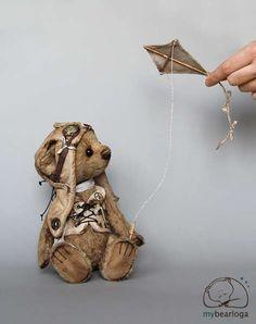 Luke aviator by By Elena Karmatskaya   Bear Pile