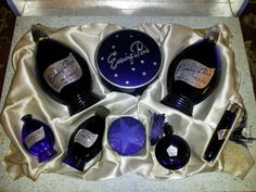 Vintage 'Evening in Paris' perfume by Bourjois. 7 piece boxed set | eBay  (I have my Mom's Evening in Paris set. I cherish it!)